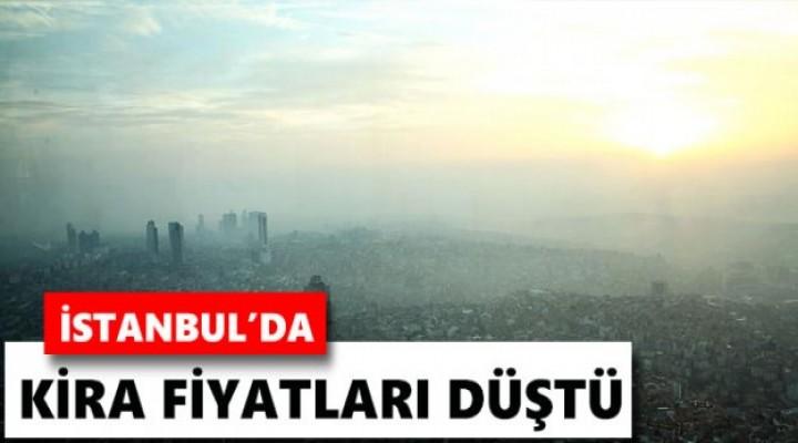 İstanbul'da kiralar düştü..