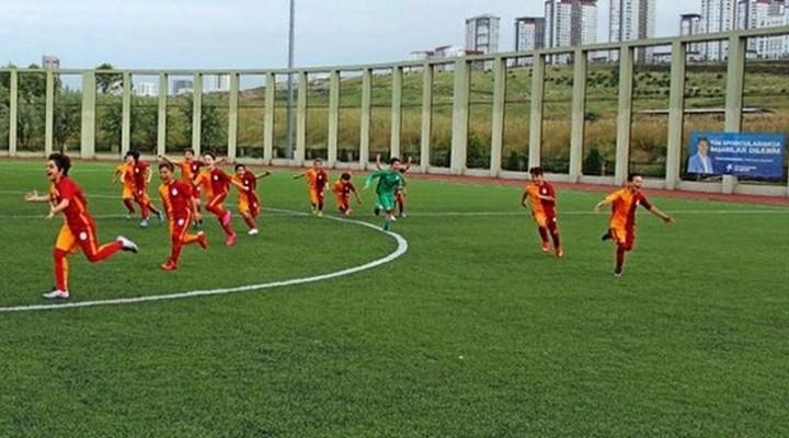 Galatasaray U14 -Büyükçekmece Tepecikspor 25-0