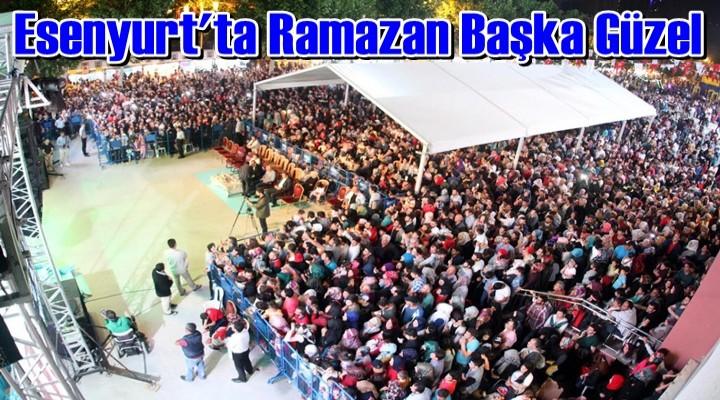 Ramazan keyfi Esenyurt'ta devam ediyor