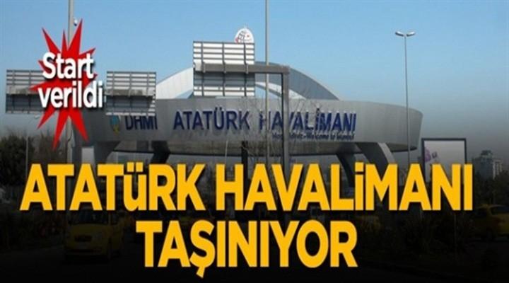 Atatürk Havalimanı taşınıyor!