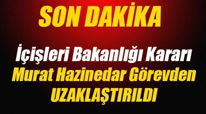 Beşiktaş Belediye Başkanı Hazinedar görevinden uzaklaştırıldı!