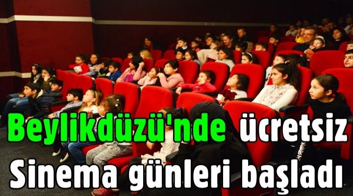 Beylikdüzü'nde ücretsiz sinema günleri başladı