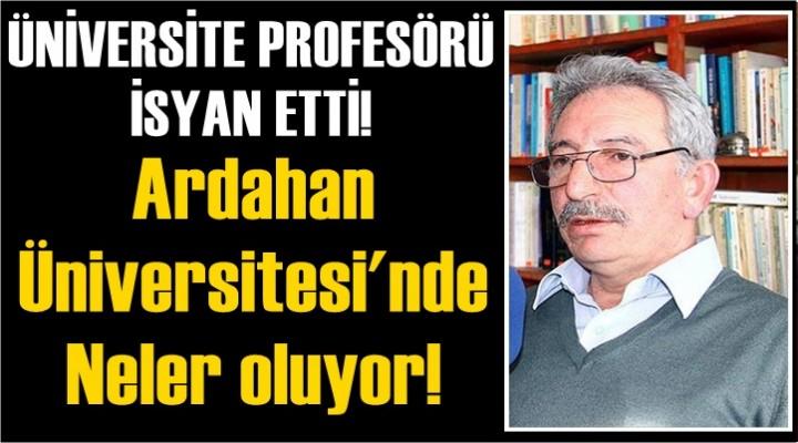 Ardahan Üniversitesi'nde Neler Oluyor!