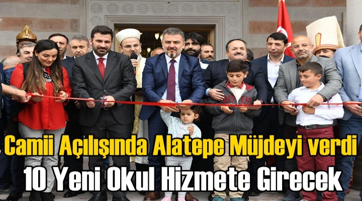 Esenyurt Piri Reis Camii ibadete açıldı