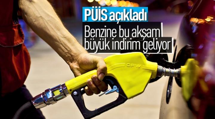 Benzine büyük indirim