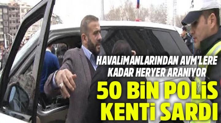 İstanbul'da 39 ilçe didik didik aranıyor