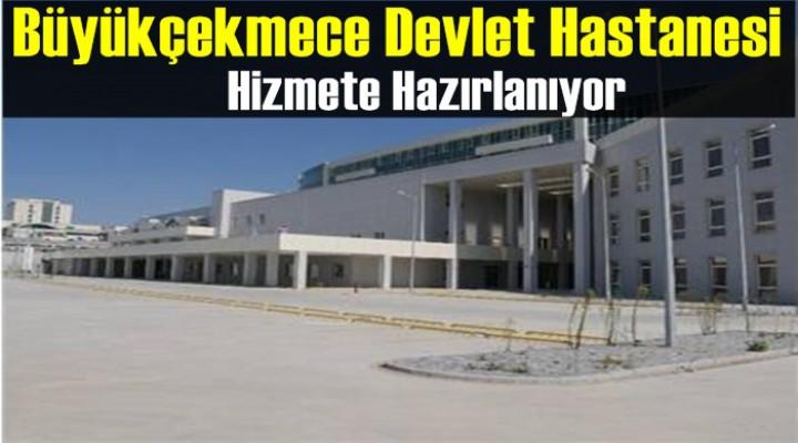 Büyükçekmece'de Yeni Devlet Hastanesi Hizmete Hazır