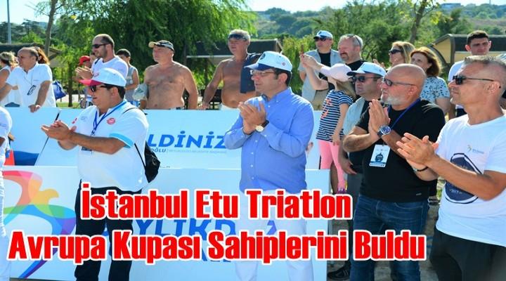İstanbul Etu Triatlon Avrupa Kupası Sahiplerini Buldu