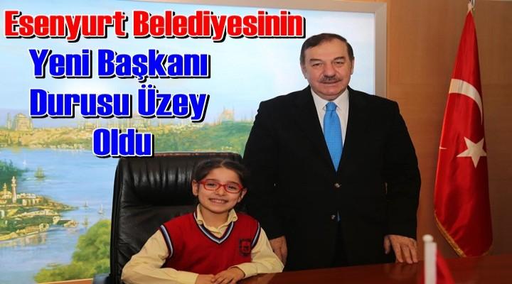 Kadıoğlu, Başkanlık görevini küçük Üzey'e bıraktı