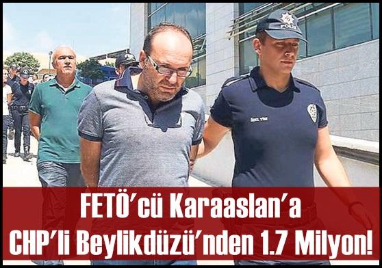 Karaaslan'a CHP'li Beylikdüzü'nden 1.7 Milyon!