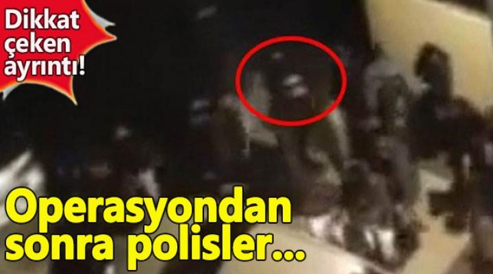 Reina saldırganına operasyonun ardından polisler birbirine sarıldı