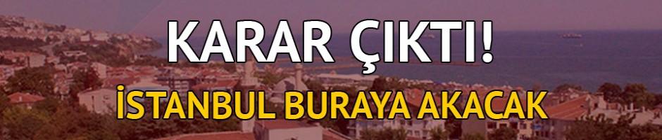İstanbullular buraya akın edecek