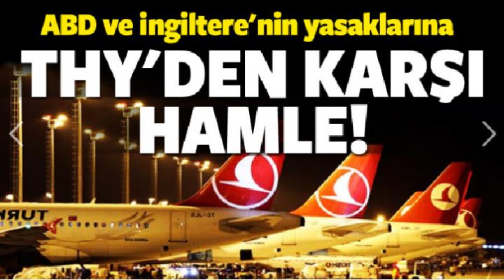 Uçakta tablet yasağının ardından THY'nin yüzünü güldüren haber