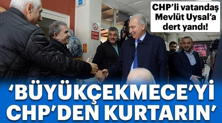 CHP üyesinden Mevlüt Uysal'a: Büyükçekmece Hasan Akgün'den kurtarılmalı!