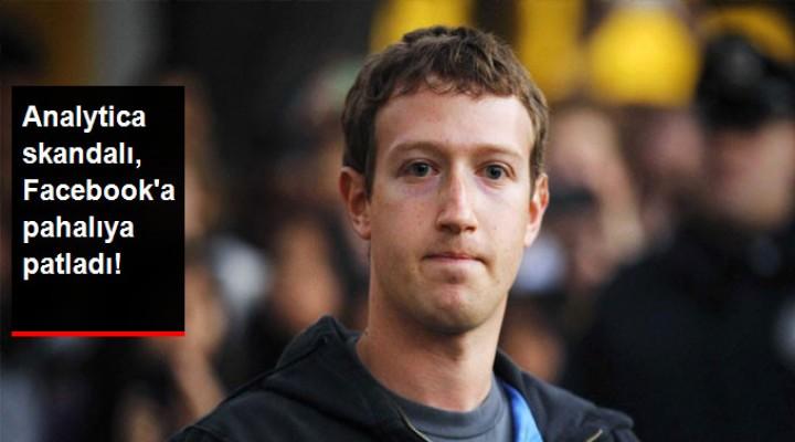 Skandal Facebook'u fena vurdu