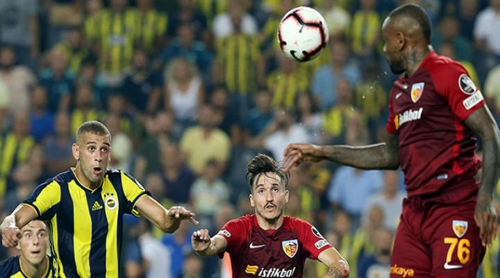 Fenerbahçe 2-3 Kayserispor | Maç sonucu