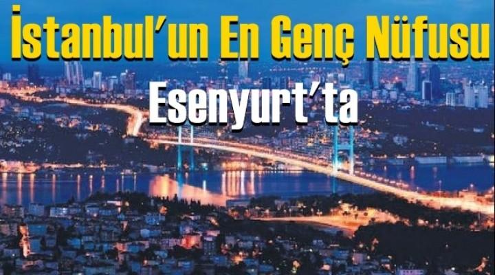 İstanbul'un En Genç Nüfusu Esenyurt'ta