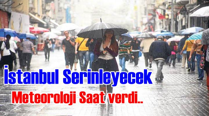 İstanbul Serinleyecek