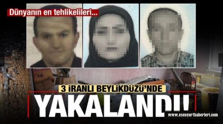 Beylikdüzü'nde İranlılara baskın!