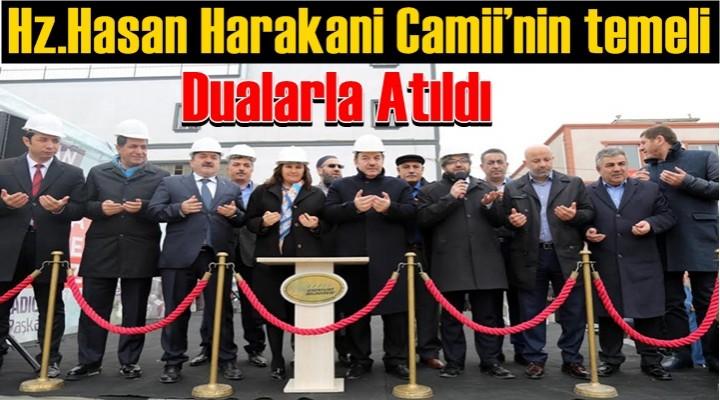 Esenyurt Belediyesi, Hz. Hasan Harakani Camii'nin temelini attı