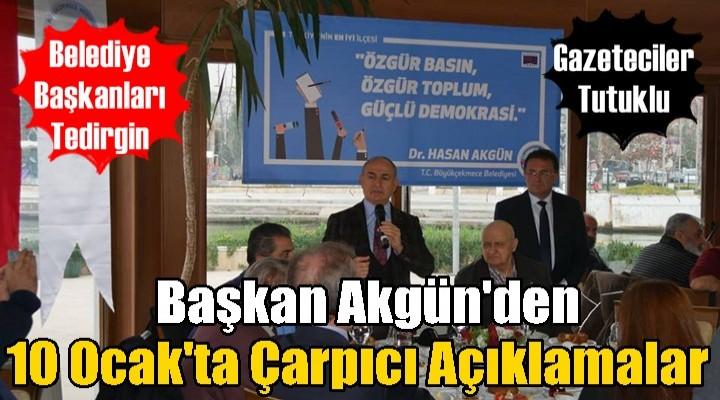 Başkan Akgün'den çarpıcı açıklamalar