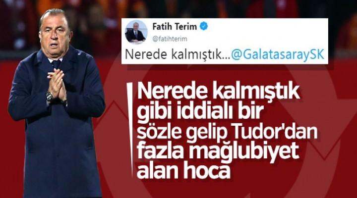 Fatih Terim'in 11 haftalık karnesi