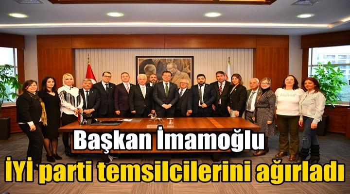 İmamoğlu İYİ parti temsilcilerini ağırladı