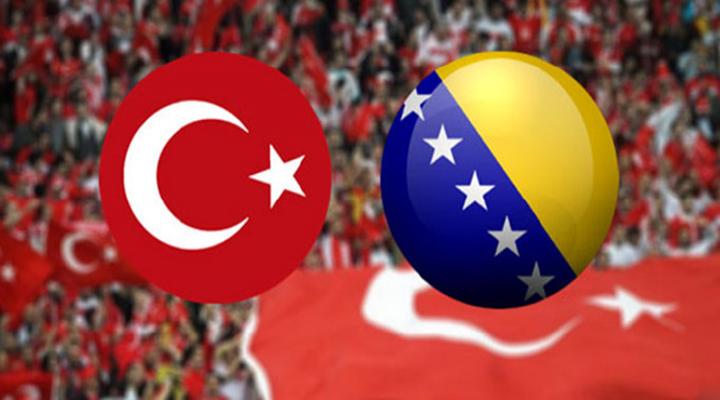 Türkiye - Bosna Hersek maçının ilk 11'leri belli oldu