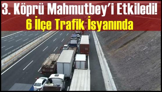 6 İlçe'de Trafik İsyanı