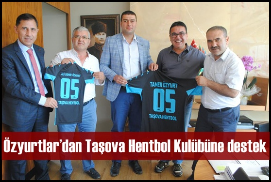 Özyurtlar'dan Taşova Kulübüne destek