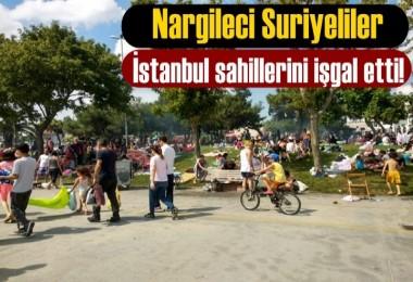 Suriye'liler İstanbul sahillerini işgal etti!
