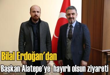 Erdoğan'dan hayırlı olsun ziyareti