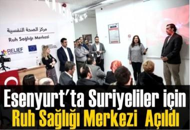 Esenyurt'ta Suriyeliler için Ruh Sağlığı Merkezi  Açıldı