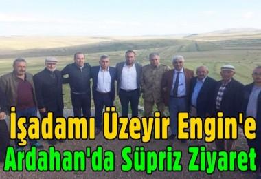 İşadamı Üzeyir Engin'e Üst Düzey Yöneticilerden Süpriz ziyaret