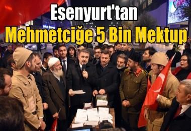 Esenyurt'tan Mehmetciğe 5 Bin Mektup