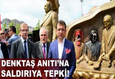Denktaş Anıtı'na saldırıya tepki