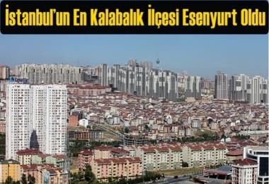 İstanbul'un En Kalabalık İlçesi Esenyurt Oldu