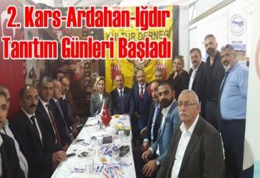 İstanbul'da 2. Kars-Ardahan-Iğdır Günleri Başladı