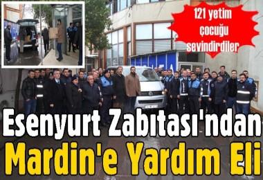 Esenyurt Zabıtası'ndan Mardin'e Yardım Eli