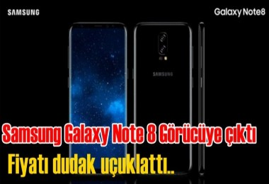 İşte Samsung Galaxy Note 8