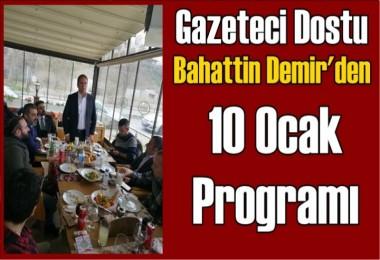 Demir; 10 Ocak Gazeteciler Gününü Kutladı
