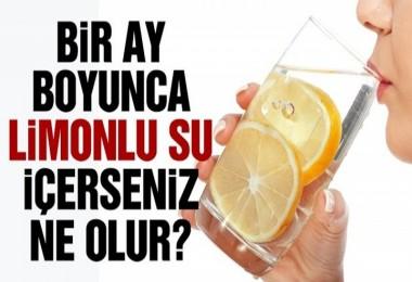 Limonlu suyun sağlığımıza olan etkileri