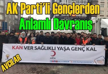 AK Parti'li Gençlerden Anlamlı Davranış