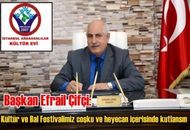 Kültür ve Bal Festivalimiz coşku ve heyecan içerisinde kutlansın