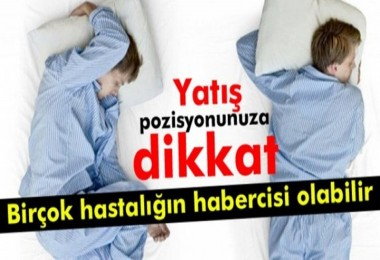 Bu ağrıların nedeni uyku pozisyonunuz!