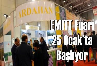 EMITT Fuarı 25 Ocak'ta başlıyor