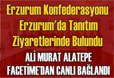 Alatepe Erzurum'a Canlı Bağlandı