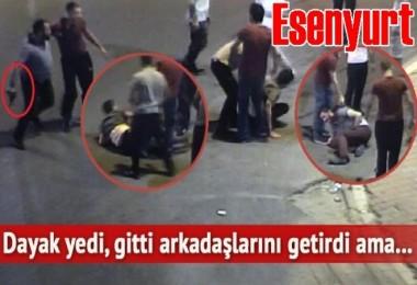 Esenyurt'ta Taksicilerin silahlı kavgası