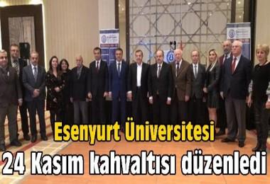 Esenyurt Üniversitesi 24 Kasım kahvaltısı düzenledi