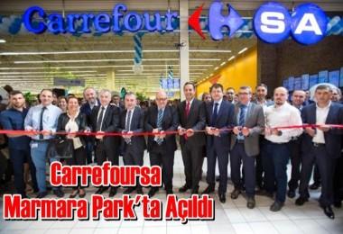 Carrefoursa,  bizim Mahalle Sloganıyla Marmara Park'ta Açıldı